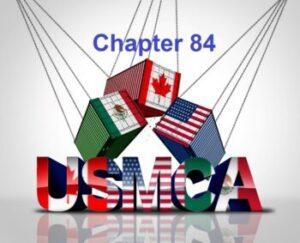 usmca chapter 84
